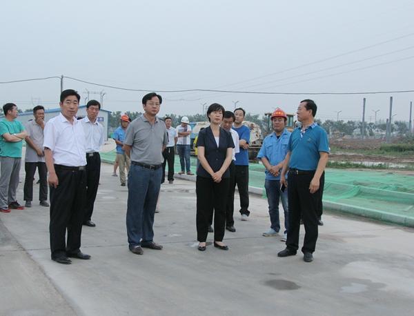 吴海燕,曹广阔调研大气污染防治工作-睢县网