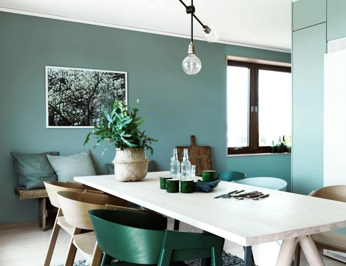 绿色有新意的家