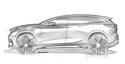 定义高于瑞虎7 奇瑞全新SUV设计图发布