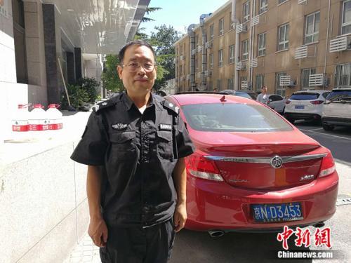 王岗 中新网记者 张尼 摄