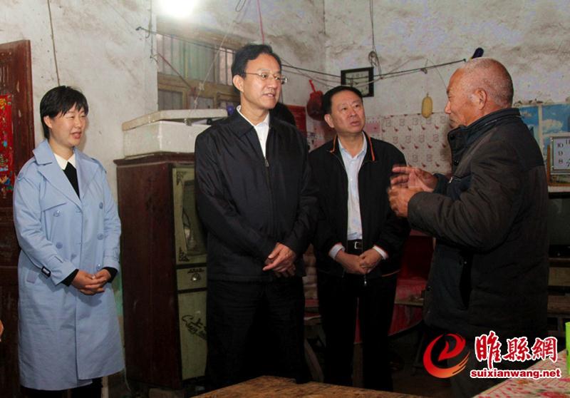 最高人民法院党组成员、副院长张述元莅睢调研定点扶贫工作