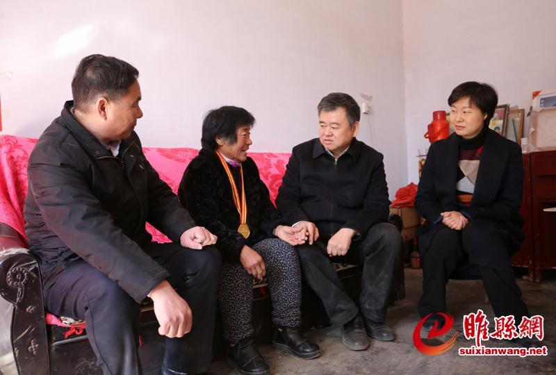 副省长徐光到睢县慰问困难群众