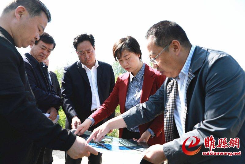 吴海燕调研足力健幸福小镇重点项目