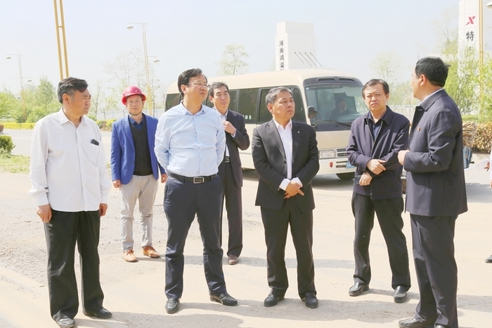 市政协副主席刘明亮到我县调研重点项目进展情况