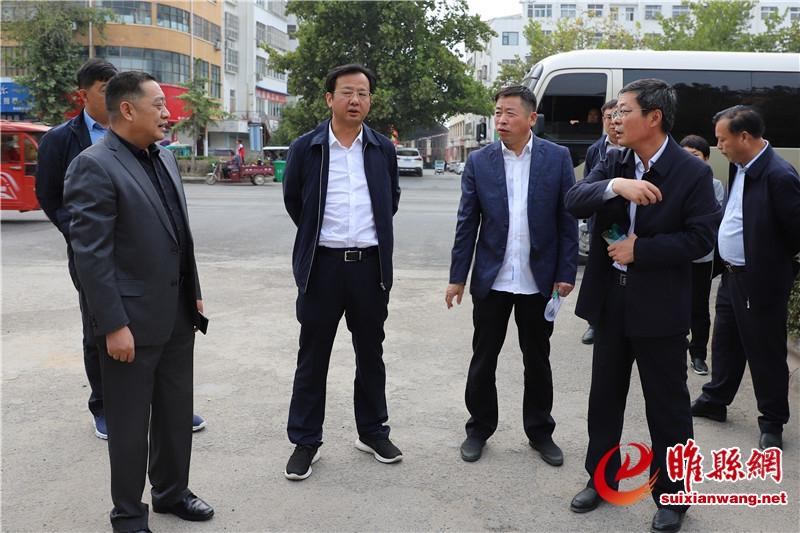曹广阔督导全国文明城市提名城市创建工作