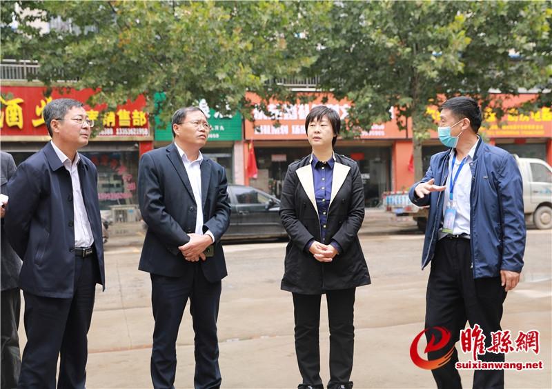 吴海燕调研督导全国文明城市提名城市创建工作