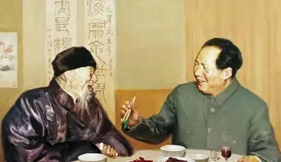 齐白石送给毛泽东的6幅字画